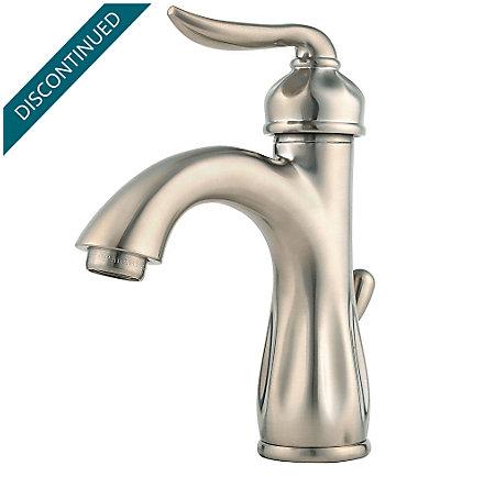 Brushed Nickel Sedona Single Control, Centerset Bath Faucet - F-042-LT0K - 1