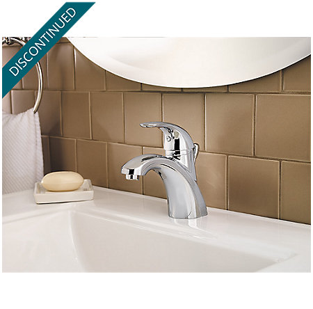 Polished Chrome Parisa Single Control, Centerset Bath Faucet - F-042-PRCC - 3