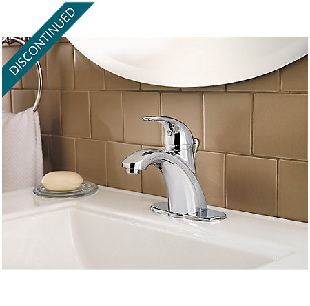 Polished Chrome Parisa Single Control, Centerset Bath Faucet - F-042-PRCC - 5