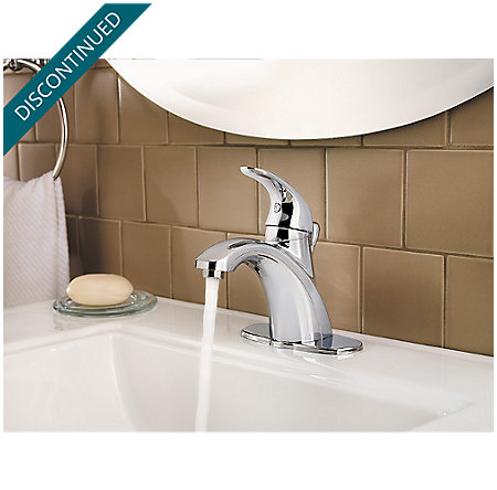 Polished Chrome Parisa Single Control, Centerset Bath Faucet - F-042-PRCC - 6