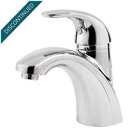Polished Chrome Parisa Single Control, Centerset Bath Faucet - J42-AMCC - 1