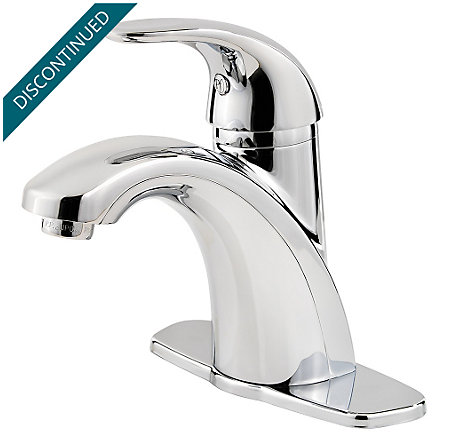 Polished Chrome Parisa Single Control, Centerset Bath Faucet - F-042-PRCC - 2