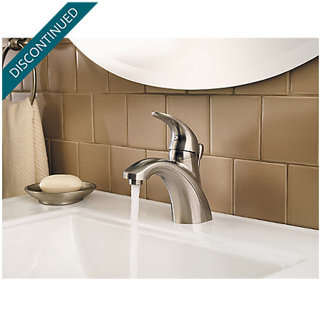 Brushed Nickel Parisa Single Control, Centerset Bath Faucet - F-042-PRKK - 4