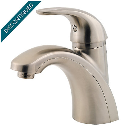 Brushed Nickel Parisa Single Control, Centerset Bath Faucet - F-042-PRKK - 1