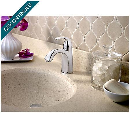 Polished Chrome Selia Single Control, Centerset Bath Faucet - F-042-SLCC - 3