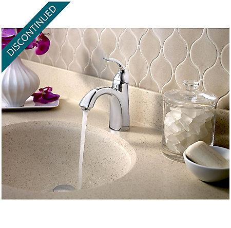 Polished Chrome Selia Single Control, Centerset Bath Faucet - F-042-SLCC - 4