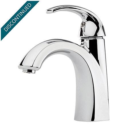Polished Chrome Selia Single Control, Centerset Bath Faucet - F-042-SLCC - 1