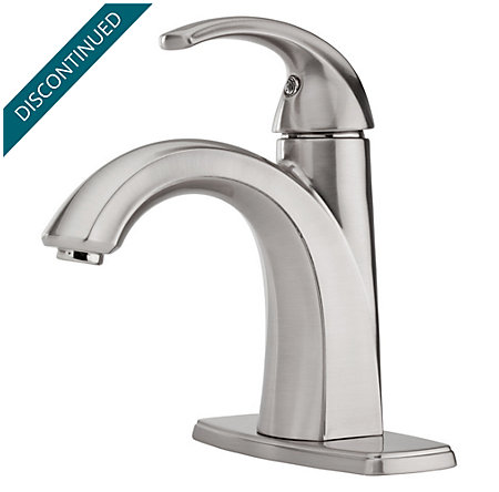 Brushed Nickel Selia Single Control, Centerset Bath Faucet - F-042-SLKK - 2