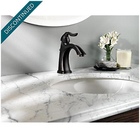 Tuscan Bronze Santiago Single Control, Centerset Bath Faucet - F-042-ST0Y - 3