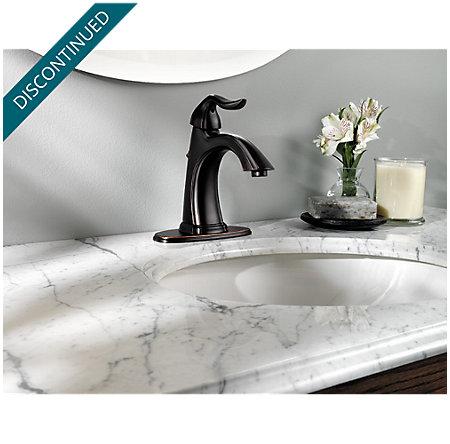 Tuscan Bronze Santiago Single Control, Centerset Bath Faucet - F-042-ST0Y - 4