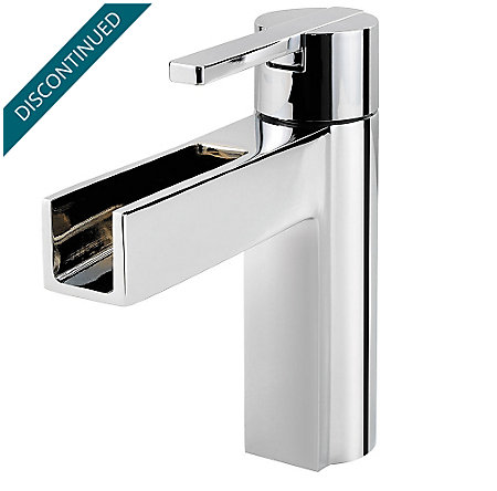 Polished Chrome Vega Single Control, Centerset Bath Faucet - F-042-VGCC - 1