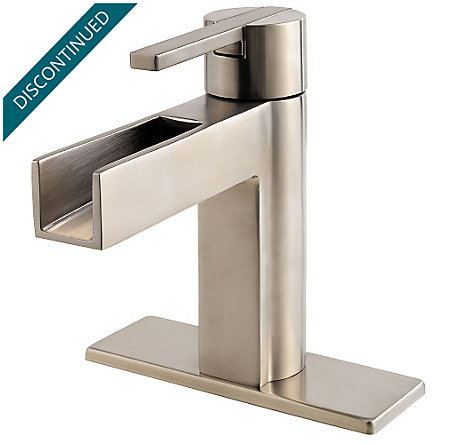 Brushed Nickel Vega Single Control, Centerset Bath Faucet - F-042-VGKK - 2