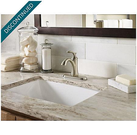 Brushed Nickel Verano Single Control Bath Faucet - F-042-VRKK - 4