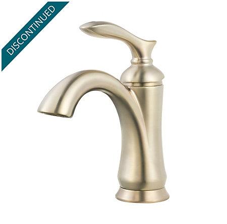 Brushed Nickel Verano Single Control Bath Faucet - F-042-VRKK - 1