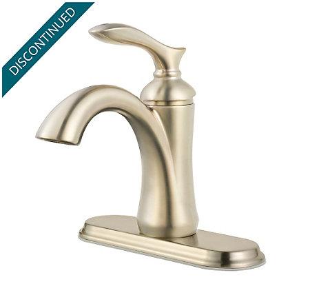 Brushed Nickel Verano Single Control Bath Faucet - F-042-VRKK - 2