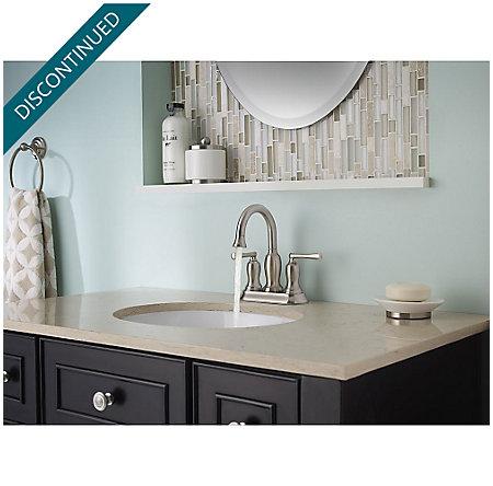 Brushed Nickel Lindosa Centerset  Bath Faucet - F-043-LDKK - 4