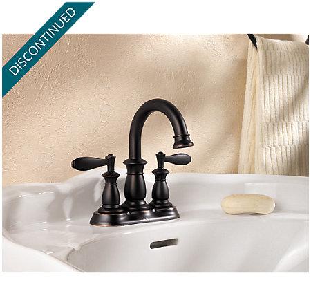 Tuscan Bronze Langston Centerset Bath Faucet - F-043-LN0Y - 2