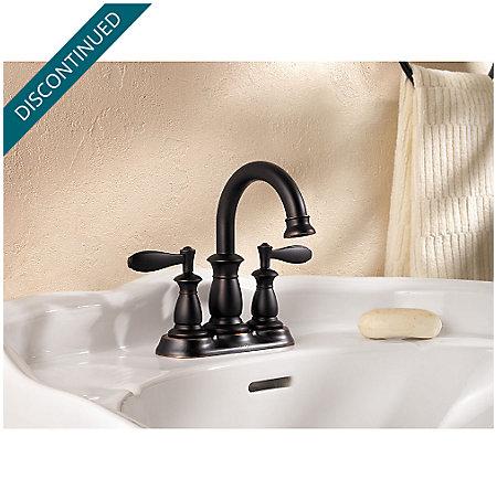 Tuscan Bronze Langston Centerset Bath Faucet - F-043-LNYY - 2