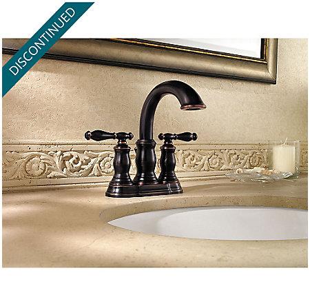 Tuscan Bronze Hanover Centerset Bath Faucet - F-043-TMYY - 2