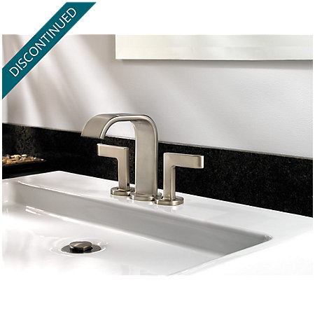 Brushed Nickel Skye Centerset Bath Faucet - F-046-SYKK - 3