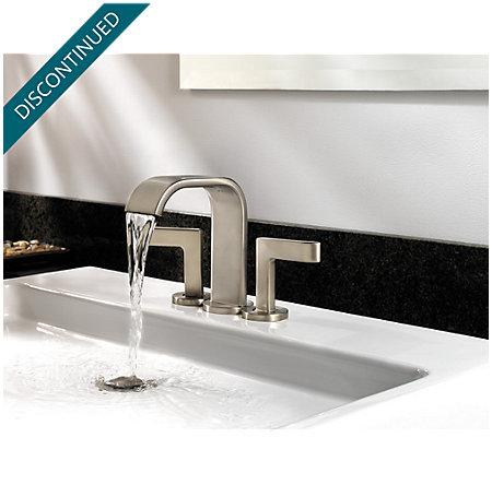 Brushed Nickel Skye Centerset Bath Faucet - F-046-SYKK - 6