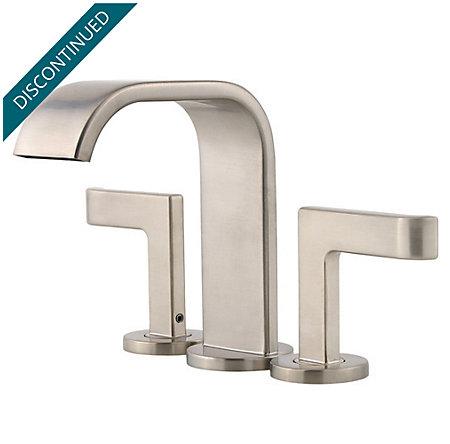 Brushed Nickel Skye Centerset Bath Faucet - F-046-SYKK - 1