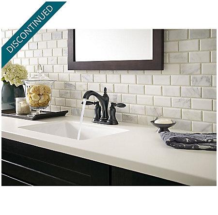 Tuscan Bronze Arlington Centerset Bath Faucet - F-048-ARYY - 3