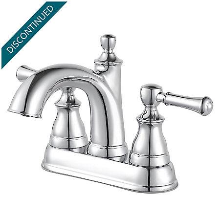 Polished Chrome Autry Centerset Bath Faucet - F-048-AUCC - 1