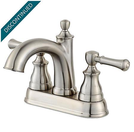 Brushed Nickel Autry Centerset Bath Faucet - F-048-AUKK - 1