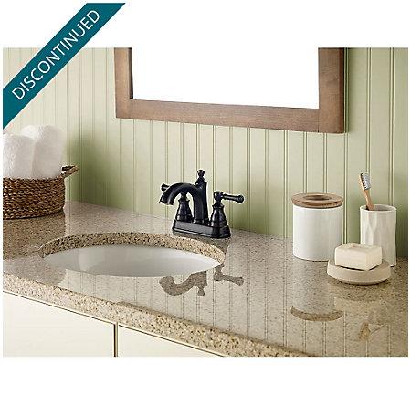 Tuscan Bronze Autry Centerset Bath Faucet - F-048-AUYY - 2