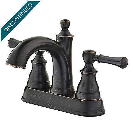 Tuscan Bronze Autry Centerset Bath Faucet - F-048-AUYY - 1