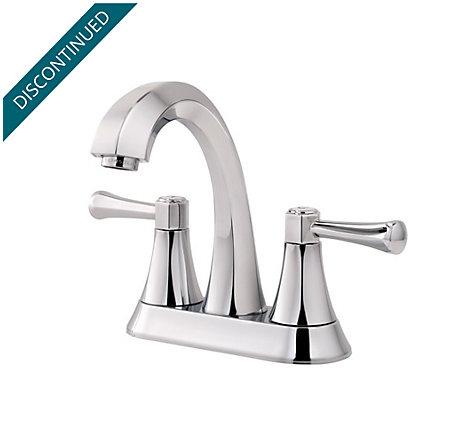 Polished Chrome Altavista Centerset Bath Faucet - F-048-AVCC - 1