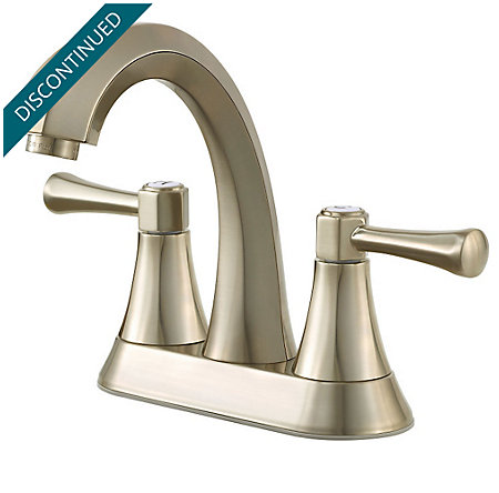 Brushed Nickel Altavista Centerset Bath Faucet - F-048-AVKK - 1