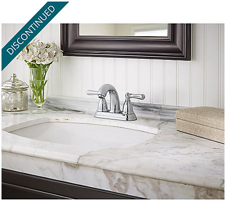 Polished Chrome Canton Centerset Bath Faucet - F-048-CNCC - 2