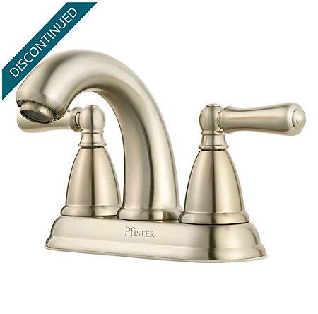 Brushed Nickel Canton Centerset Bath Faucet - F-048-CNKK - 1