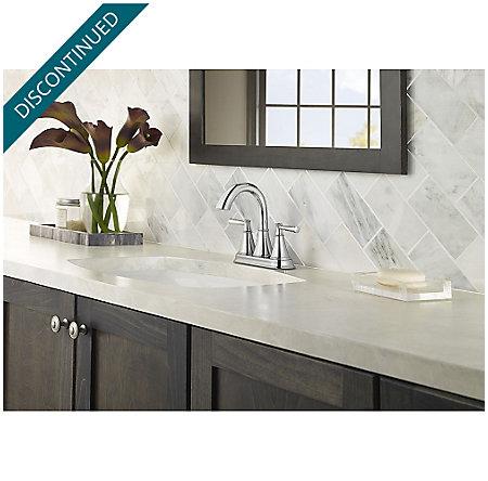 Polished Chrome Cantara Centerset Bath Faucet - F-048-CRCC - 2