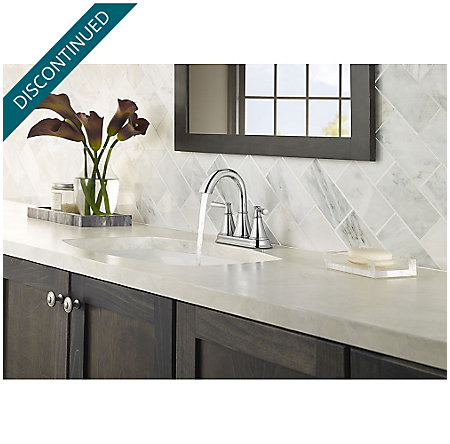 Polished Chrome Cantara Centerset Bath Faucet - F-048-CRCC - 3