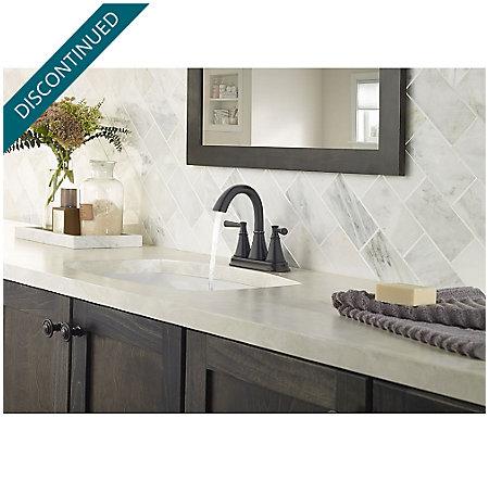 Tuscan Bronze Cantara Centerset Bath Faucet - F-048-CRYY - 3