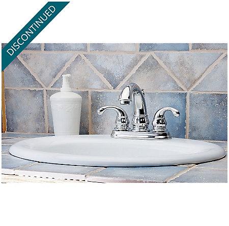 Polished Chrome Treviso Centerset Bath Faucet - F-048-DC00 - 2
