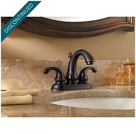 Tuscan Bronze Treviso Centerset Bath Faucet - F-048-DY00 - 2