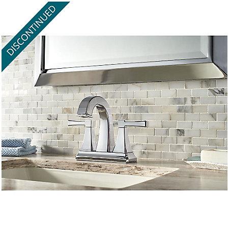 Polished Chrome Halifax Centerset Bath Faucet - F-048-HLCC - 2
