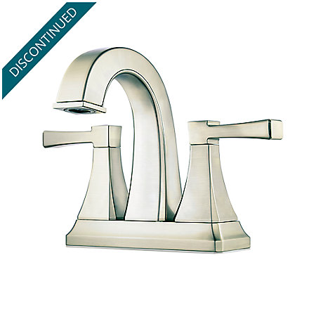Brushed Nickel Halifax Centerset Bath Faucet - F-048-HLKK - 1