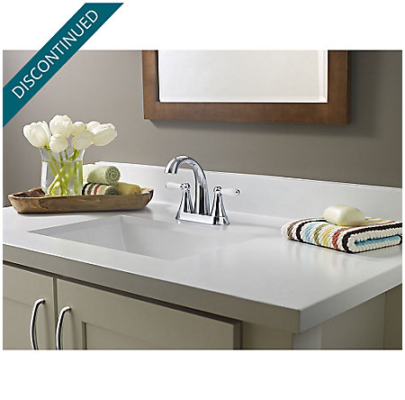 Polished Chrome Kaylon Centerset  Bath Faucet - F-048-KYCC - 2