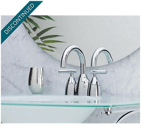 Polished Chrome Contempra Centerset Bath Faucet - F-048-NC00 - 2