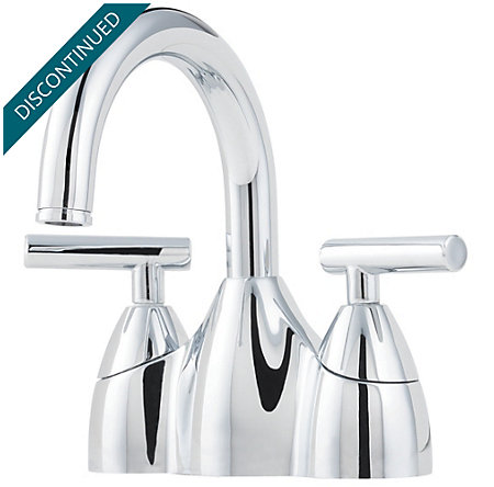 Polished Chrome Contempra Centerset Bath Faucet - F-048-NC00 - 1