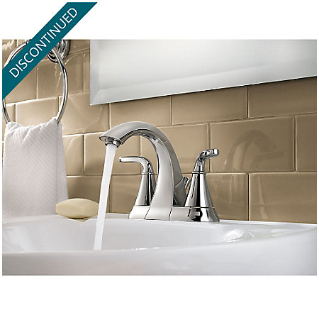 Polished Chrome Pasadena Centerset Bath Faucet - F-048-PDCC - 3