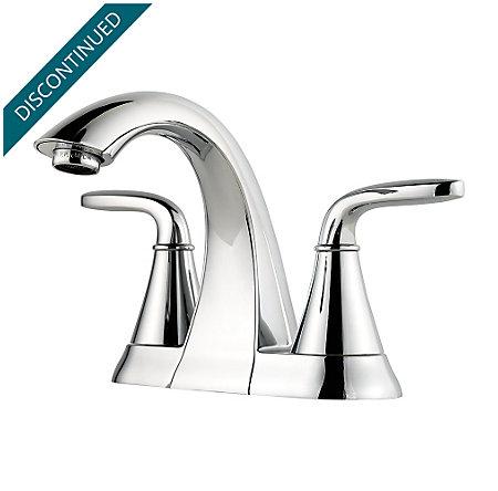 Polished Chrome Pasadena Centerset Bath Faucet - F-048-PDCC - 1