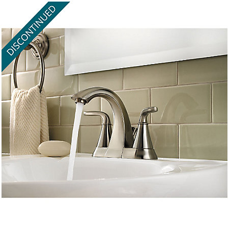 Brushed Nickel Pasadena Centerset Bath Faucet - F-048-PDKK - 3