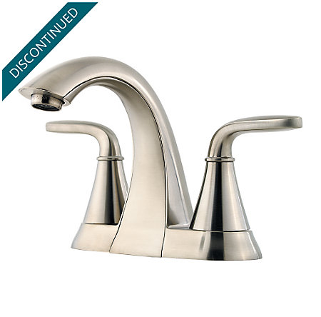 Brushed Nickel Pasadena Centerset Bath Faucet - F-048-PDKK - 1