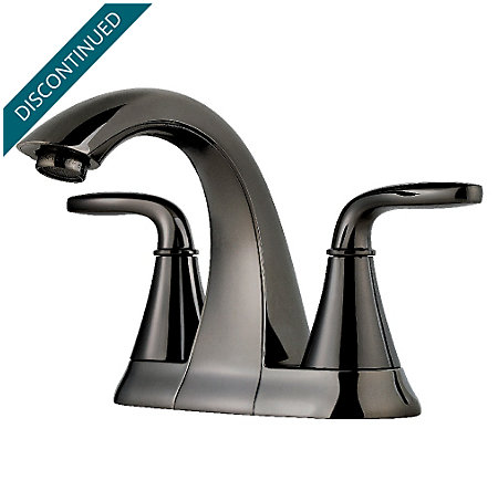 Midnight Chrome Pasadena Centerset Bath Faucet - F-048-PDMC - 1